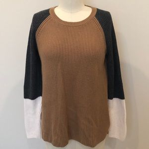 Talbots Color Blocked Sweater
